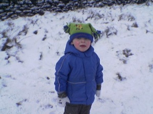 Thomas in Snow